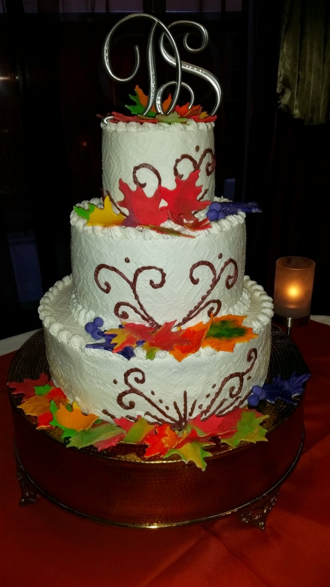 3 Layer Colorful Cake