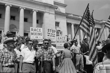 RACES WHITE PROTEST
